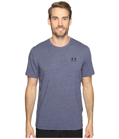 Under Armour Charged Cotton® Left Chest Lockup - Midnight Navy