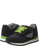 Armani Junior - Sneaker with Green Detailing (Infant/Toddler)