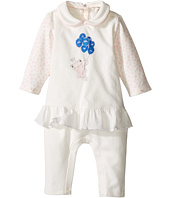 Armani Junior - Polka Dot Flutter Frog Footie (Infant)