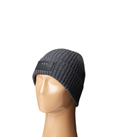John Varvatos Star U.S.A. - 2x2 Rib Knit Hat with Cuff