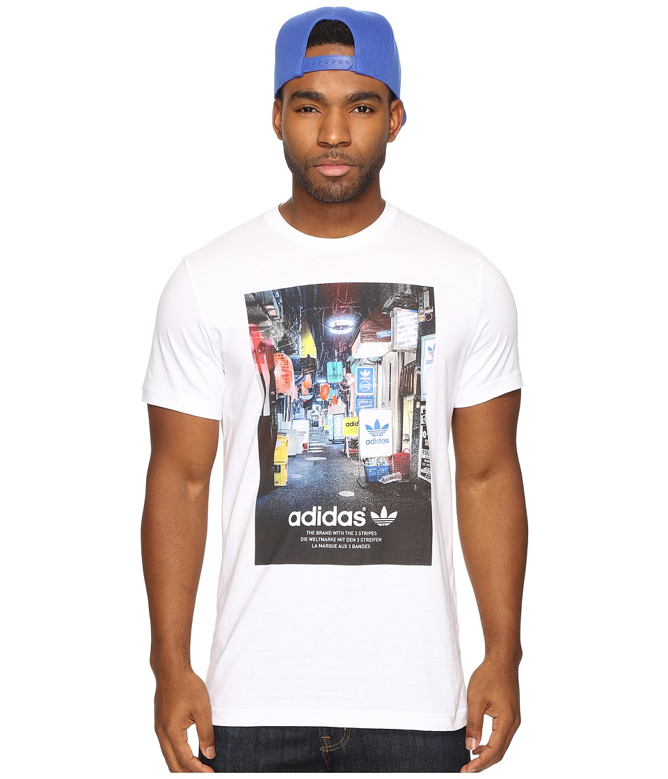 adidas Originals Street Photo Tee (White) Men
