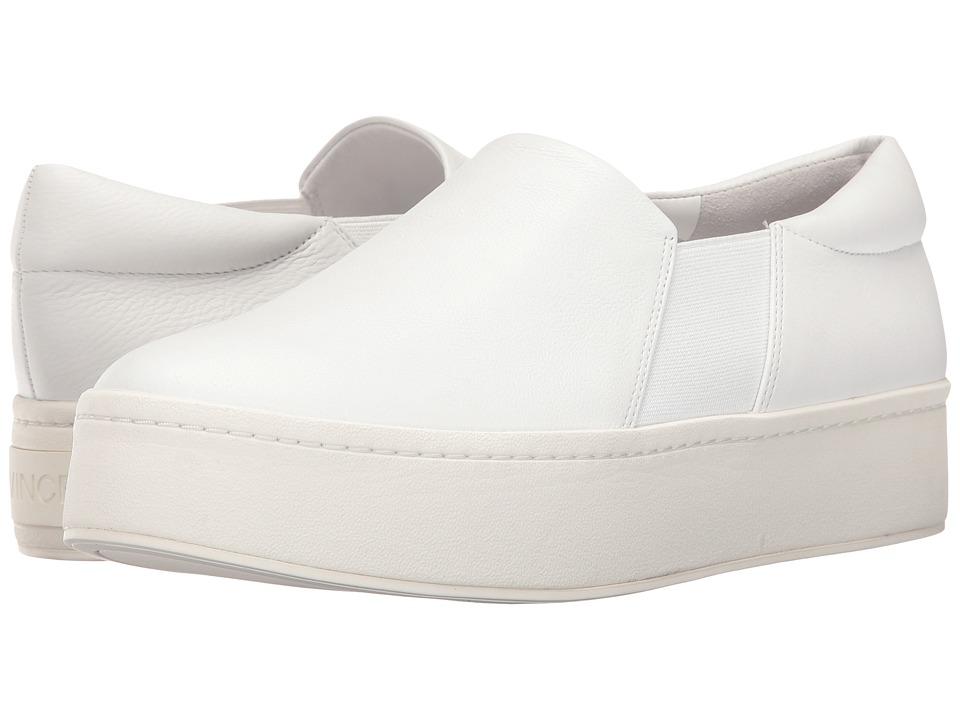 Vince Warren (White Plaster Leather) Women's Shoes