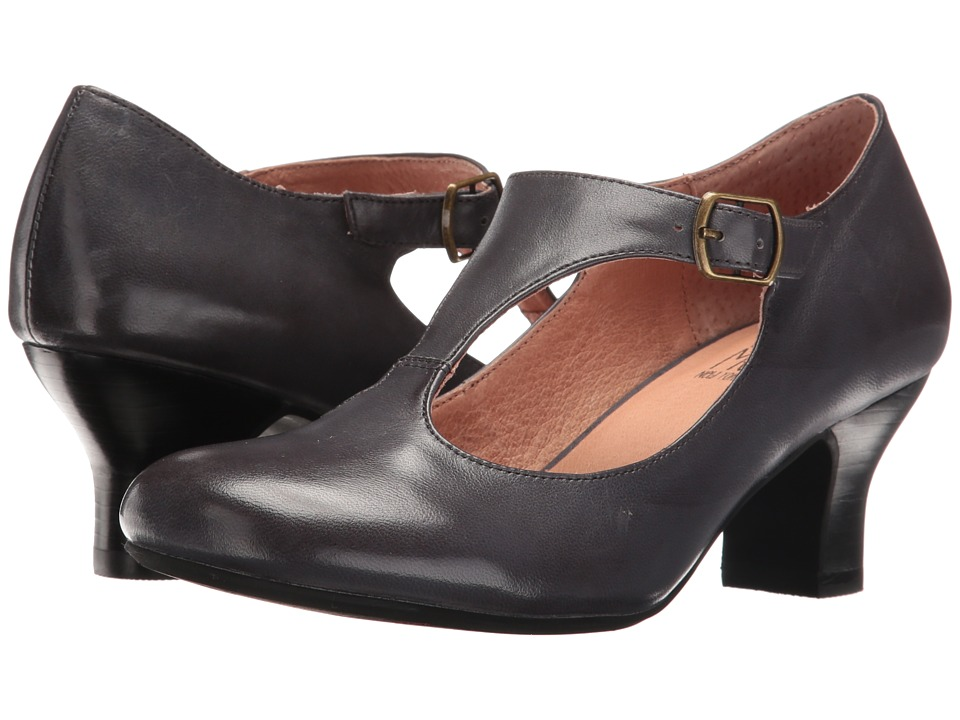 Retro & Vintage Style Shoes Miz Mooz - Trina Midnight Womens 1-2 inch heel Shoes $129.95 AT vintagedancer.com