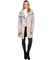 Dylan by True Grit - Plush Faux Heather Fur Long Snap Jacket