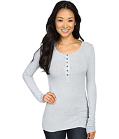 Dylan by True Grit - Soft Rayon Thermal Rib Henley