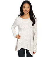 Dylan by True Grit - Glacier Slub Long Sleeve Loose Tee