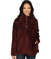 Dylan by True Grit - Plush Pebble Pile Stadium Pullover Top w/ Side Seam Pockets