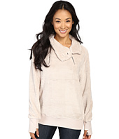 Dylan by True Grit - Plush Pebble Pile Zip Mock Top