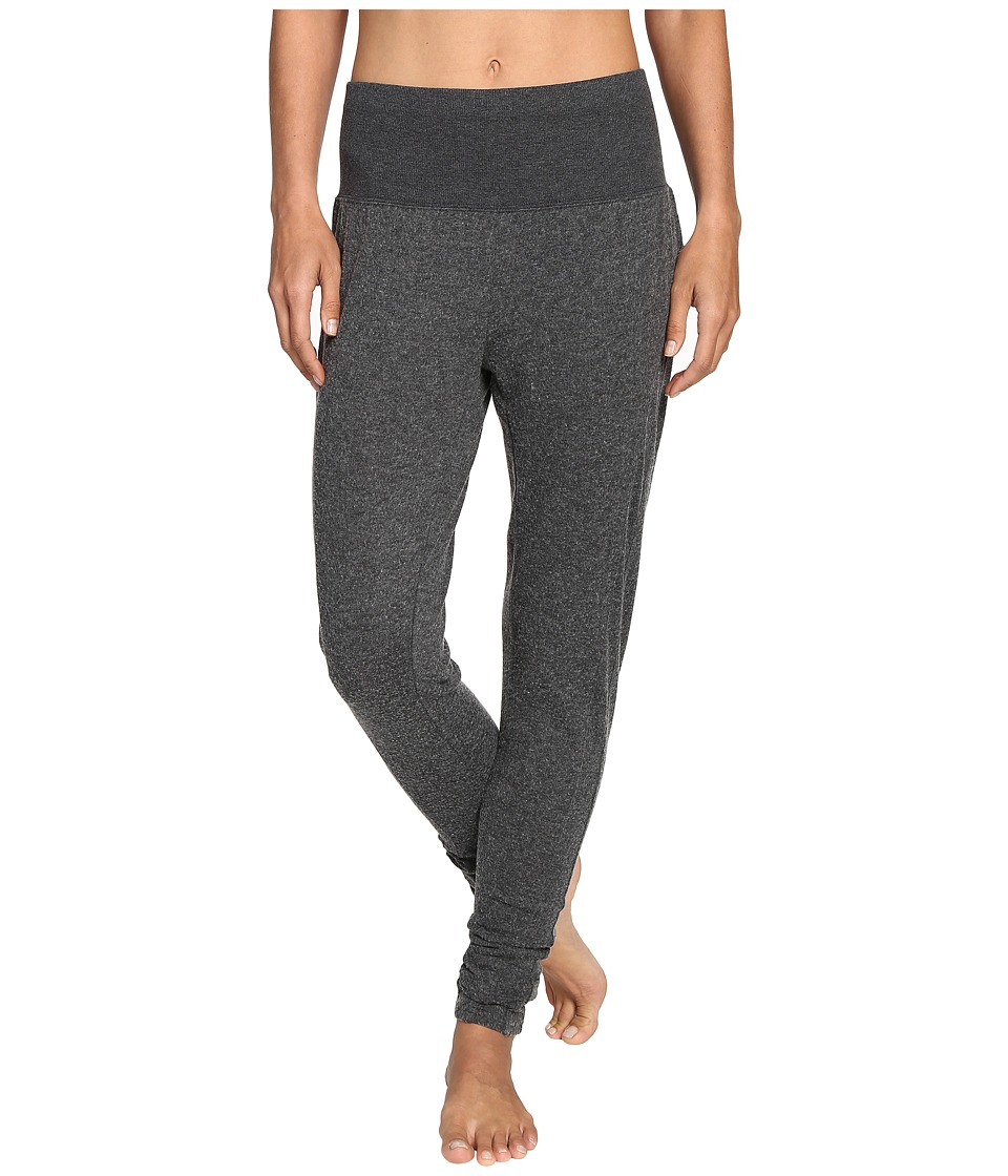 ALO - Contour Sweat Pants (Charcoal Heather) Women's Casual Pants