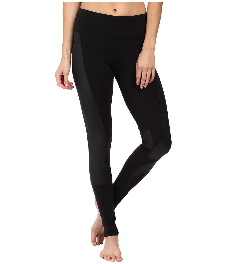 Image of ALO - Accelerate Leggings (Black/Black Glossy) Women's Casual Pants