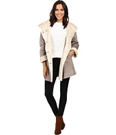 Dylan by True Grit - Madison City Faux Sueded Shearling Coat