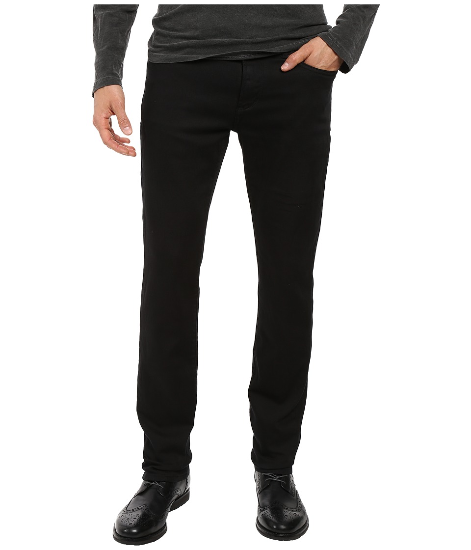 John Varvatos Star U.S.A. - Bowery Jeans Zip Fly in Black J306S3B (Black) Mens Jeans