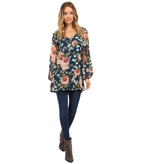 Show Me Your Mumu Donna Michelle Tunic - Fall in Love Floral