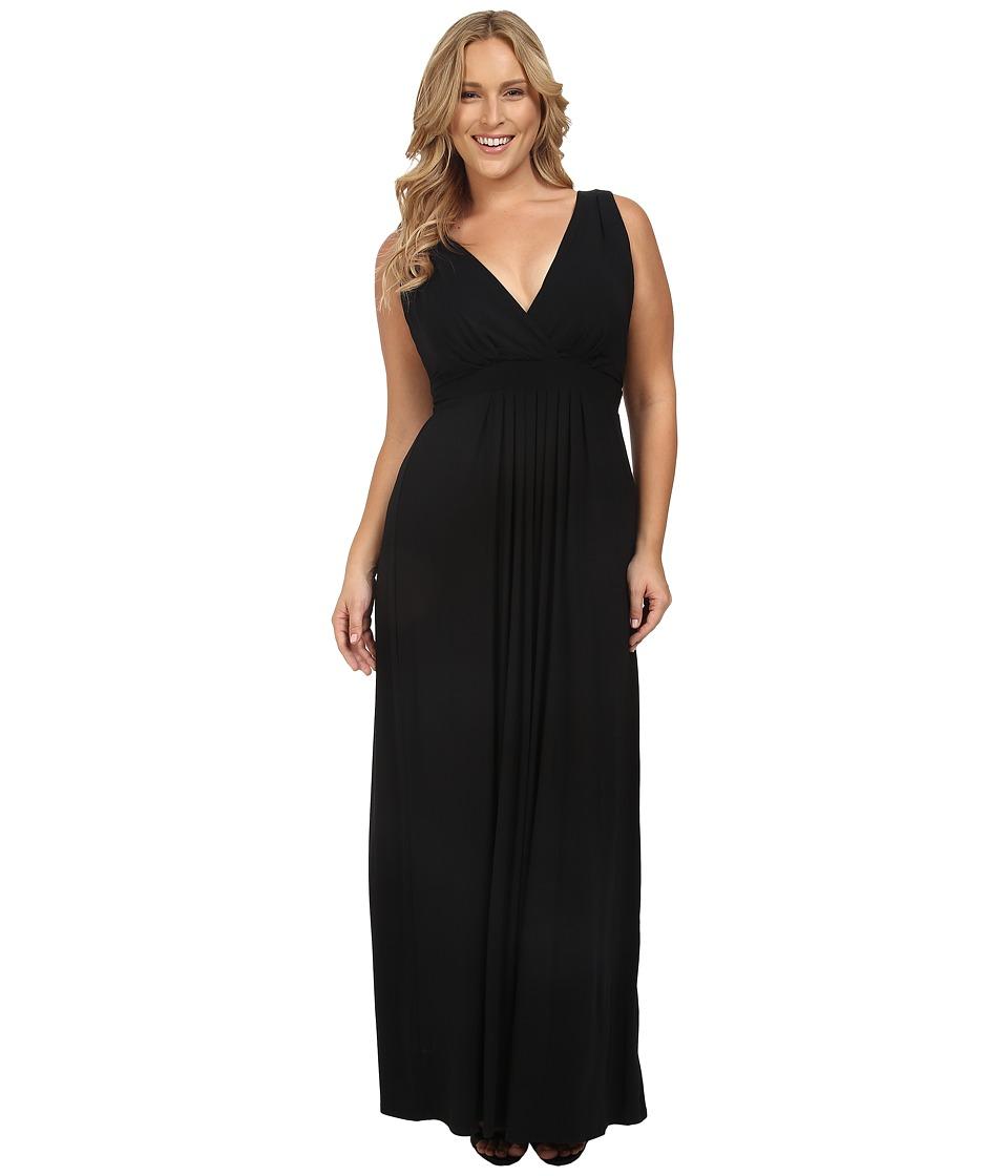 Tart Plus Size Chloe Maxi Dress (Black) Women
