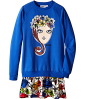 Moschino Kids - Flowers Crown Dress (Big Kids)