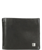 Steve Madden - Soft Pebble Leather Passcase Wallet