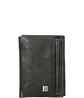 Steve Madden - Soft Pebble Leather Trifold Wallet