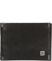 Steve Madden - Soft Pebble Leather Slimfold Wallet