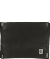Steve Madden - Soft Pebble Leather Slimfold Wallet