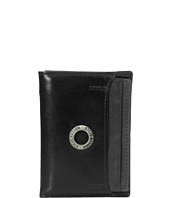 Steve Madden - Grommet Glazed Leather Trifold Wallet