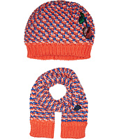 Little Marc Jacobs - Knitted Scarf and Hat Fancy Sequined Cherry Patch
