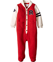 Ralph Lauren Baby - Fleece Shawl One-Piece Coveralls (Infant)