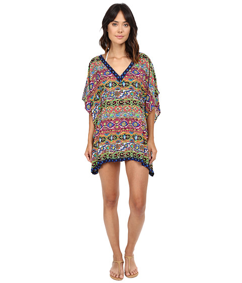 Nanette Lepore Carnaval Covers Caftan Cover-Up - Multi