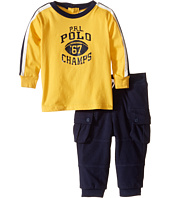 Ralph Lauren Baby - Jersey Graphic Pants Set (Infant)