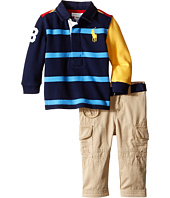 Ralph Lauren Baby - Cotton Jersey Rugby Pants Set (Infant)