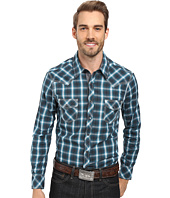Rock and Roll Cowboy - Long Sleeve Snap B2S8411