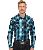 Rock and Roll Cowboy - Long Sleeve Snap B2S8416