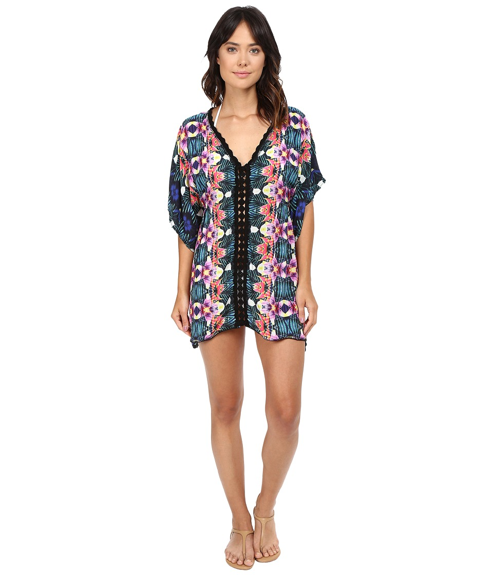 Nanette Lepore Habanera Covers Caftan Cover-Up (Multi) Women