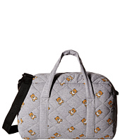 Moschino Kids - Jersey Quilted Diaper Bag w/ All Over Teddy Print