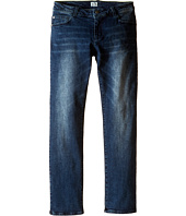 Armani Junior - Regular Fit Light Distressed Denim in Denim Indaco (Big Kids)