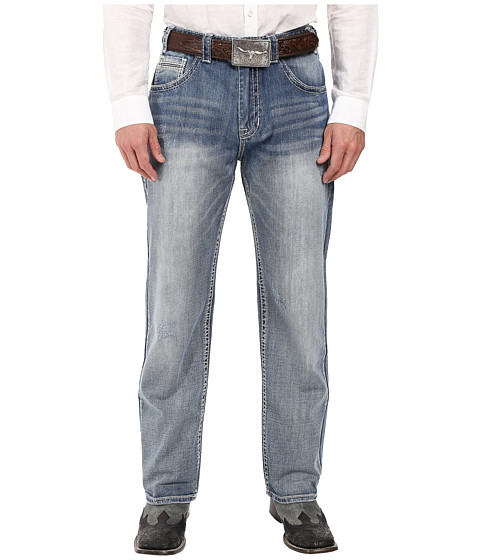 Rock and Roll Cowboy Tuf Cooper Jeans in Light Wash M0T8545