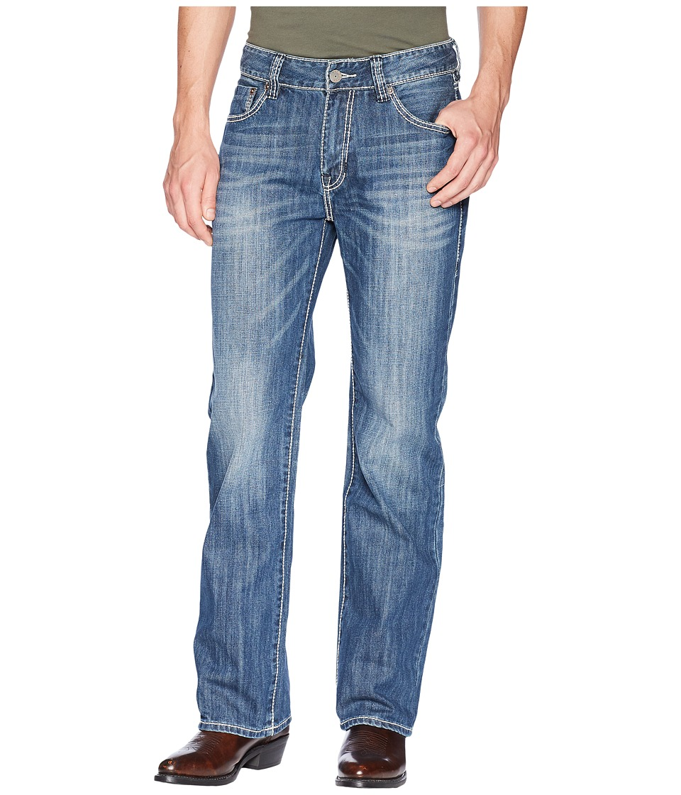 Rock and Roll Cowboy - Double Barrel in Dark Wash M0S8553 (Dark Wash) Mens Jeans