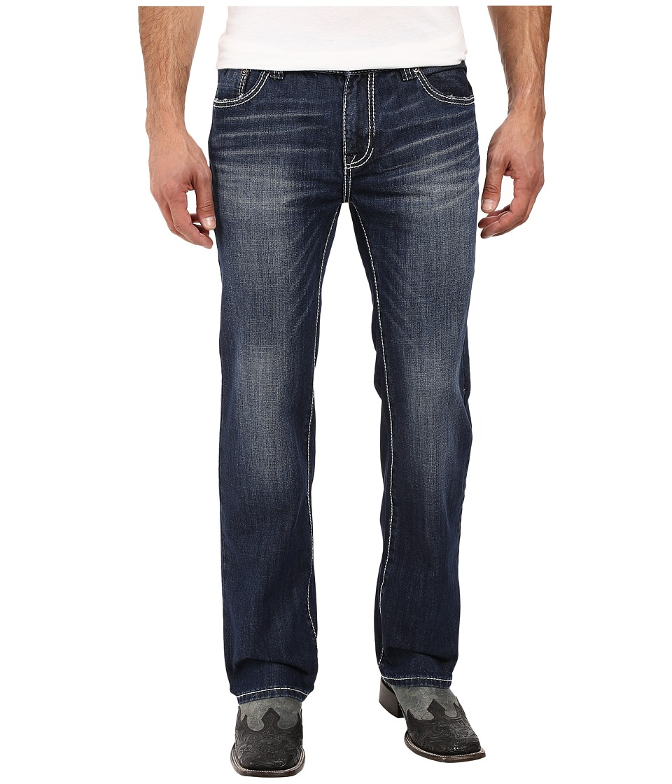 Rock and Roll Cowboy - Pistol Straight Leg in Medium Vintage M1P8555 (Medium Vintage) Mens Jeans