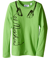 Moschino Kids - Long Sleeve Music Tee Shirt (Little Kids/Big Kids)