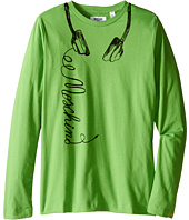Moschino Kids - Long Sleeve Music Tee Shirt (Big Kids)