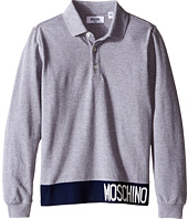 Moschino Kids - Long Sleeve Polo (Big Kids)