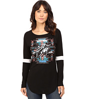 Rock and Roll Cowgirl - Long Sleeve Baseball Tee 48T8194