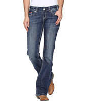 Rock and Roll Cowgirl - Low Rise Bootcut in Medium Vintage W0-8462