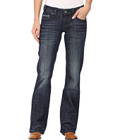 Rock and Roll Cowgirl - Riding Bootcut in Dark Wash W7-8466