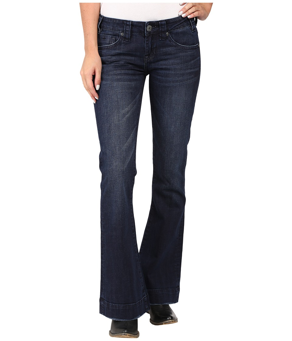 Rock and Roll Cowgirl - Trousers Low Rise in Dark Wash W8-8486 (Dark Wash) Women's Jeans