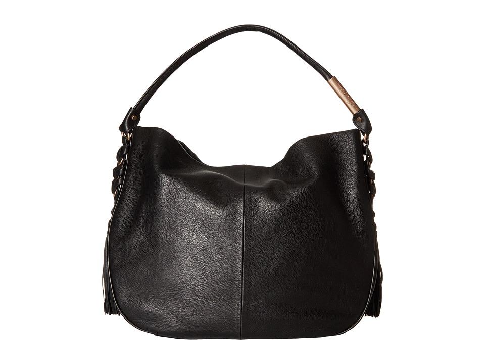Foley & Corinna - La Trenza Hobo (Black) Hobo Handbags