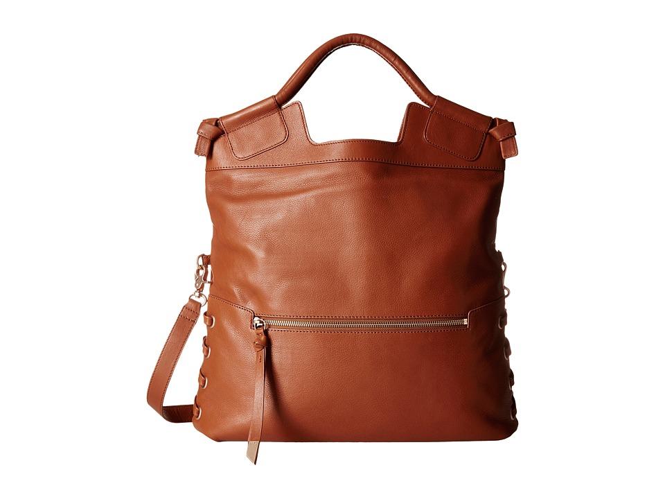 Foley & Corinna - La Trenza City Tote (Honey Brown) Tote Handbags