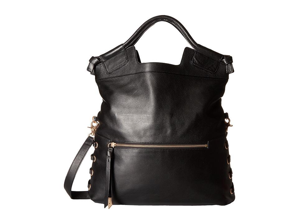 Foley & Corinna - La Trenza City Tote (Black) Tote Handbags