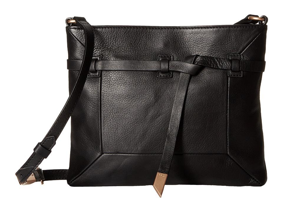 Foley & Corinna - Lea Crossbody (Black) Cross Body Handbags