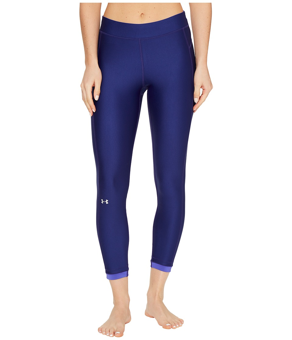 Under Armour - HG Armour Ankle Crop Pants (Europa Purple) Womens Workout