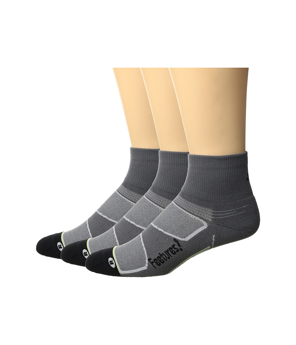 Feetures - Elite Light Cushion Quarter 3-Pair Pack